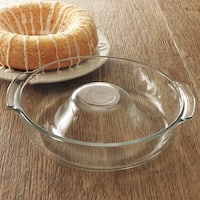 Libbey Ring Pan Glass Baking Dish