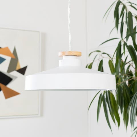 Irena Modern White Pendant Lighting Fixture