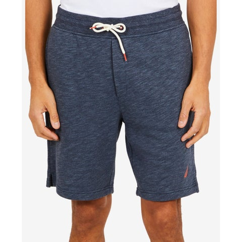 Nautica Blue Heather Mens Size XL Drawstring Casual Sweat Shorts
