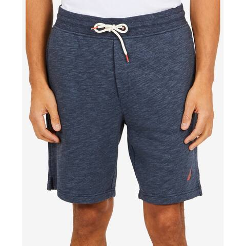 Nautica Blue Men's Size Small S Classic-Fit Space-Dyed Shorts