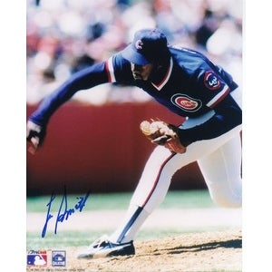Lee Smith signed Chicago Cubs 8x10 Photo