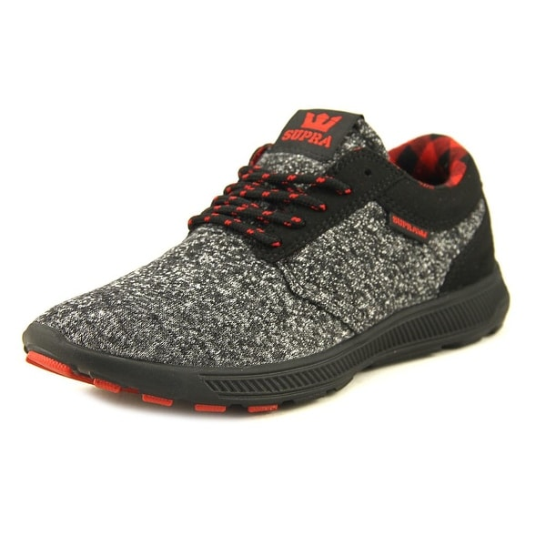 Supra Hammer Run Men Black/Risk Red Running Shoes