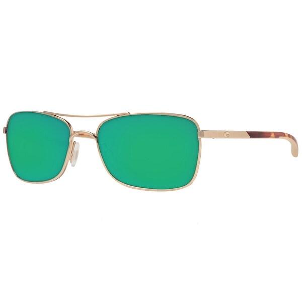 6bdfc9d910a67 Costa del Mar Palapa AP64OGMGLP Rose Gold Green Mirror 580G Polarized  Sunglasses - rose gold