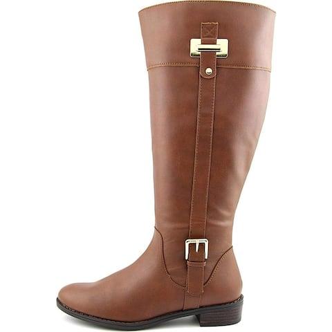 Karen Scott Womens Deliee Almond Toe Knee High Fashion Boots