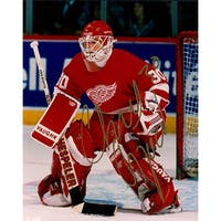 Signed Osgood Chris Detroit Red Wings 8x10 Photo autographed