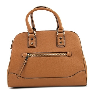 Aldo Anakardo    Leather  Satchel - Beige