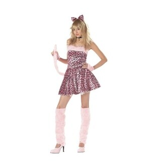 California Costumes Purrty Kitty Teen Costume - Pink - 3-5