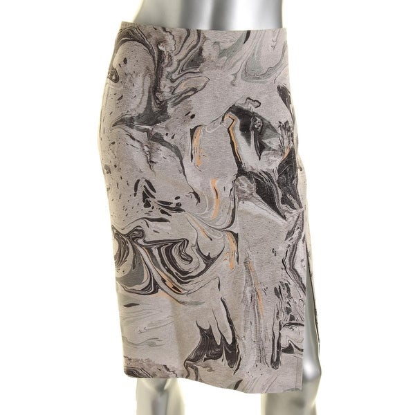 608868490 Shop Theory Womens Phereniki Silk Printed Pencil Skirt - Free Shipping  Today - Overstock - 14339449