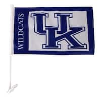 University of Kentucky Wildcats Car Flag