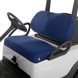 Fairway Golf Cart Diamond Air Mesh Seat Cover - Navy - 40-033-015501-00