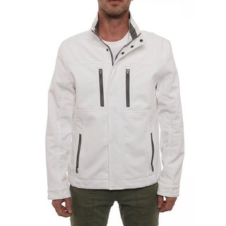 Kenneth Cole NY Front Pocket Zipper Basic Jacket Basic Jacket
