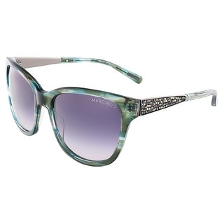 Guess by Marciano GM0723 I50 Green Cateye sunglasses
