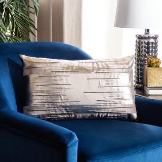 Link to Safavieh Prasla Modern Decorative Throw Pillow Similar Items in Decorative Accessories