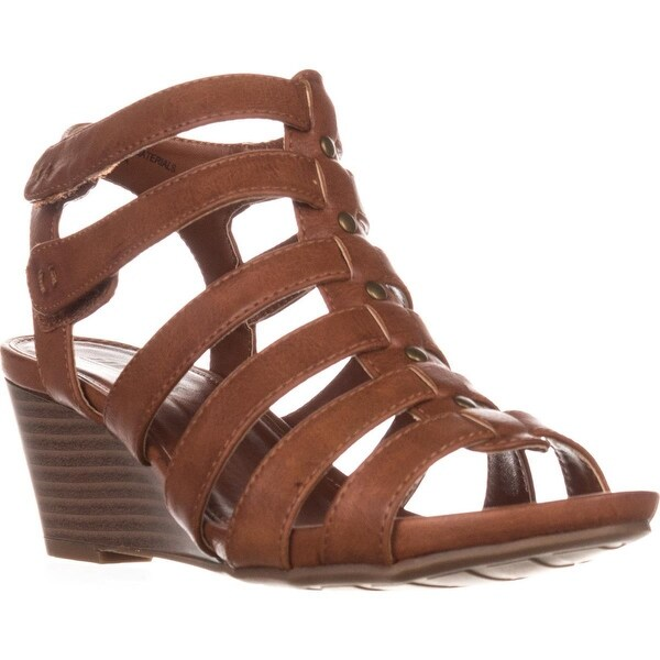 Cliffs by White Mountain Vivaldi Gladiator Wedges, Tan