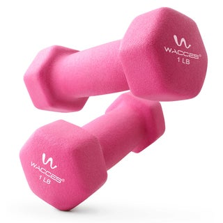 Wacces 2-Pack Neoprene Coated Dumbbell Hand Weights (More options available)