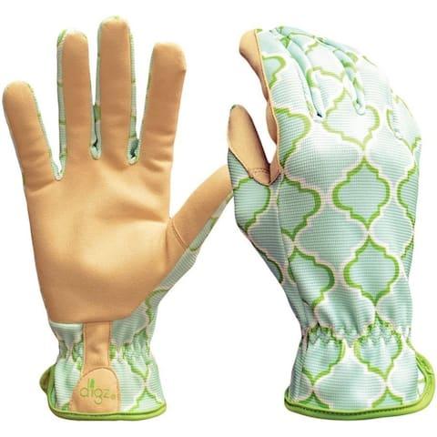 Digz 77213-23 Planter Garden Gloves, Large, Green