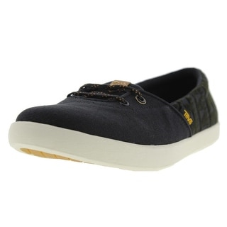 Teva Womens Willow Slip-On Canvas Sneakers Casual Shoes