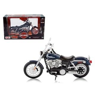 2006 Harley Davidson FXDBI Dyna Street Bob Bike Motorcycle Model 1/12 by Maisto