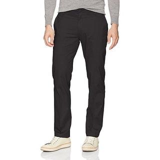 LEE Men's Performance Series Extreme Comfort Slim Pant, Black, 34W x 30L