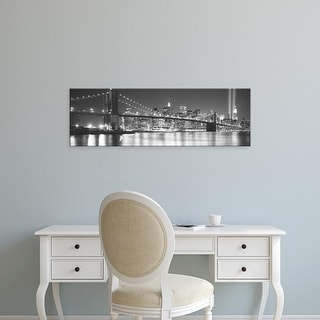 Easy Art Prints Panoramic Images's 'NYC, New York City, New York State, USA' Premium Canvas Art