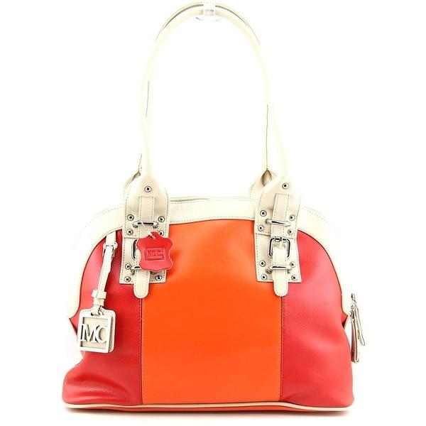 Madi Claire Carolyn Women Leather Orange Shoulder Bag