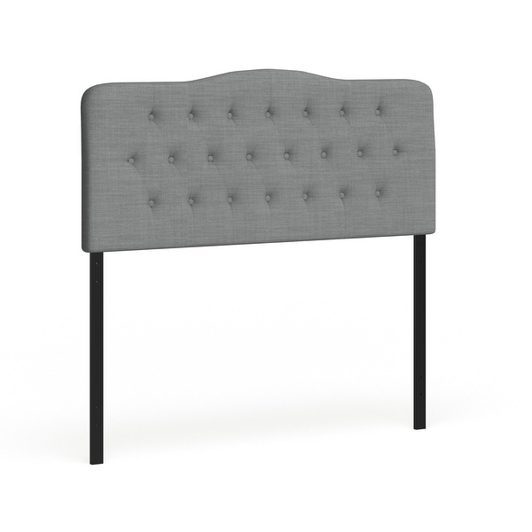 The Gray Barn Burr Hollow Queen Fabric Upholstered Headboard. Opens flyout.