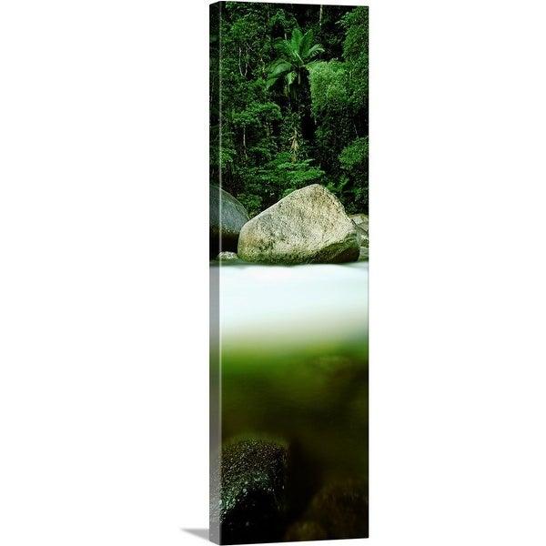 """Mossman Gorge at Daintree National Park, Queensland, Australia"" Canvas Wall Art"