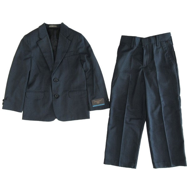 db706b359e97 Shop Dockers Little Boys Navy Blue 2 Button Jacket Pants Formal Trendy 2 Pc  Suit - Free Shipping On Orders Over $45 - Overstock - 18121686