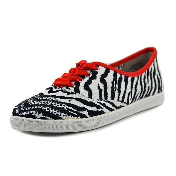 J. Renee Schooner Black/White Sneakers Shoes