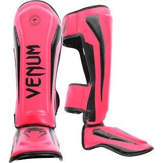 Venum Elite Standup MMA Shin Guards - Neo Pink