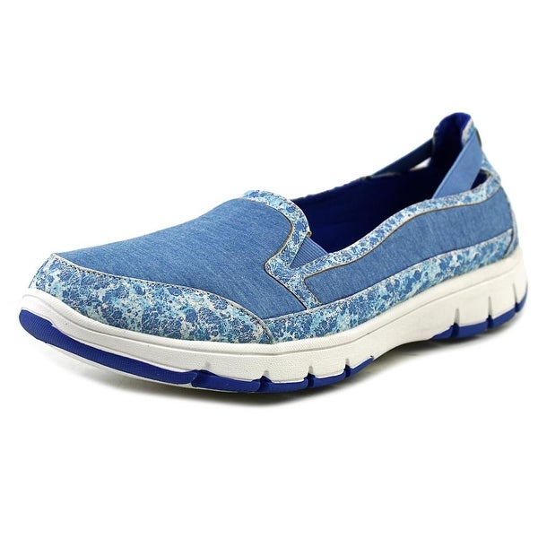 Easy Street Kacey Women N/S Round Toe Canvas Loafer