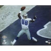 Michael Irvin Autographed Dallas Cowboys 16x20 Photo SB 30 JSA