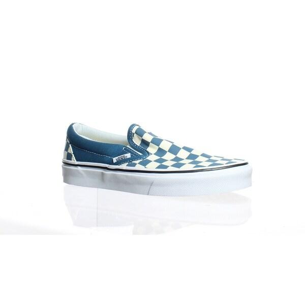 176490c5827eb7 Shop Vans Mens Vn0a38f7u78 Blue Fashion Sneaker Size 5 - Free ...