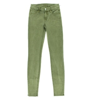 Koral Womens Coated Low-Rise Skinny Jeans - 26