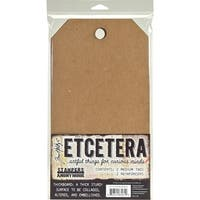 "Tim Holtz Etcetera Medium Tag 6.5""X12""-"