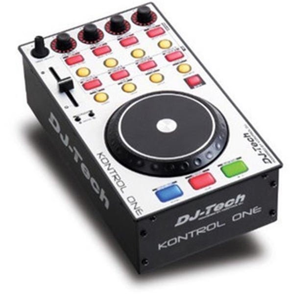 Professional DJ MIDI Controller with in.Deck Select in. Rotary