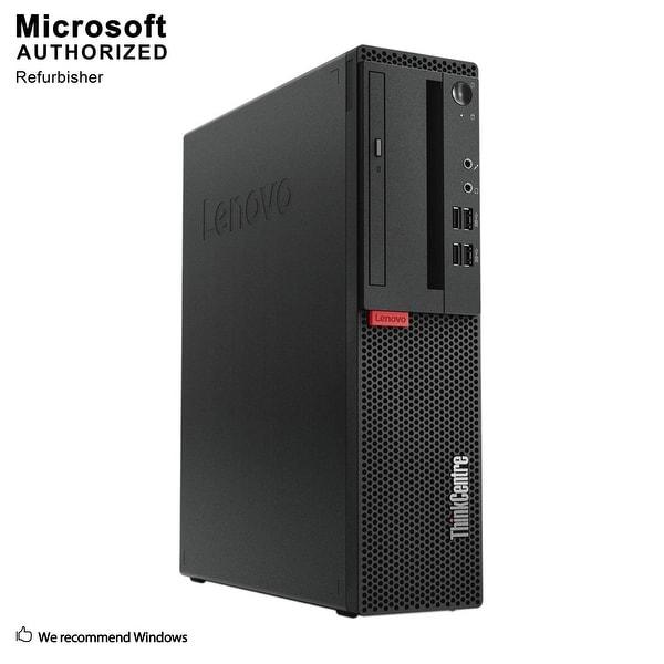 Lenovo M710S SFF, Intel i5-7400 3.0GHz, 8GB DDR3, 240GB SSD, DVD, WIFI, BT 4.0, HDMI, W10P64 (EN/ES)-Refurbished