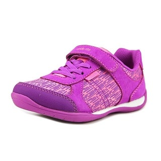 Stride Rite M2P Molly Toddler Round Toe Synthetic Purple Sneakers