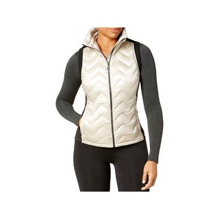 Calvin Klein Performance Womens Vest Colorblock Mixed Media