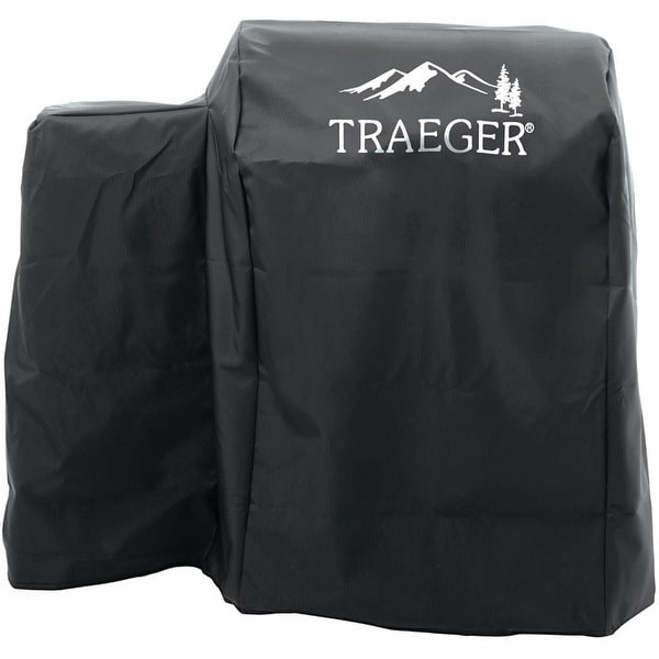 Traeger BAC374 Full Length 20 Series Grill Cover, Black