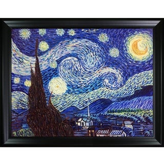 Vincent Van Gogh 'Starry Night' Hand Painted Oil Reproduction