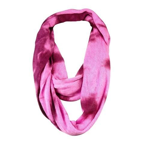 BCBGeneration Women's Ribbed Tie-Dye Loop Infinity Scarf