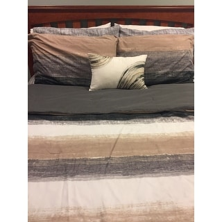 Carson Carrington Jutland Taupe Complete Comforter and Cotton Sheet Set