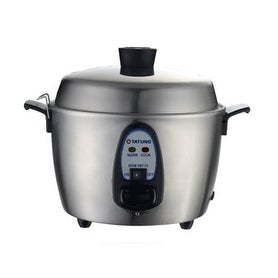 Tatung TAC-06KN 6 Cups Indirect Heating Stainless Steel Rice Cooker