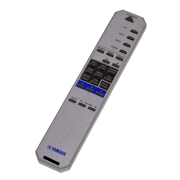 OEM Yamaha Remote Control Originally Shipped With: RP-U200, RPU200