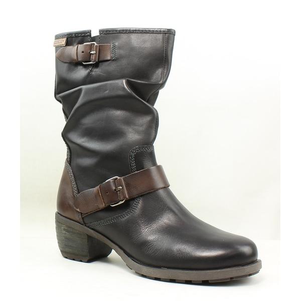 38b3e227bf0 Shop Pikolinos Womens Olmo Black Fashion Boots EUR 38 - Free ...
