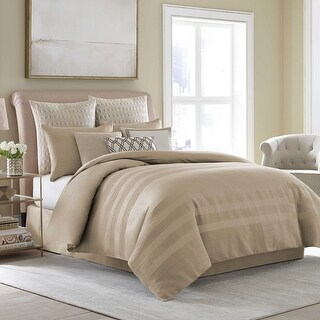 Wamsutta Joliet Comforter Set in Caramel (Full)