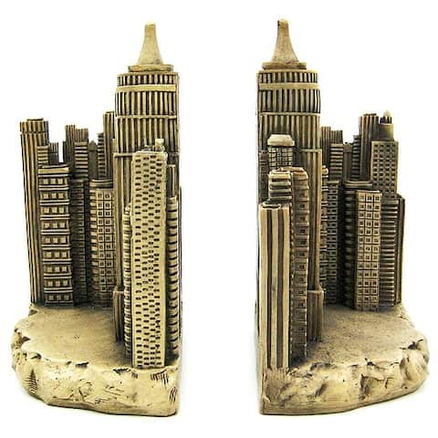 Empire State Building Book Ends Bookends NYC New York - 8 X 5 X 4 inches