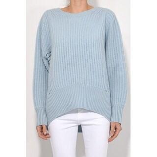 rag & bone Blue Athena Cashmere Pullover