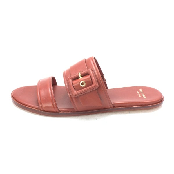Cole Haan Womens 14A4043 Open Toe Casual Slide Sandals - 6